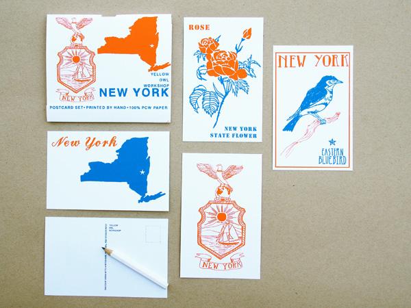 NY State Postcards