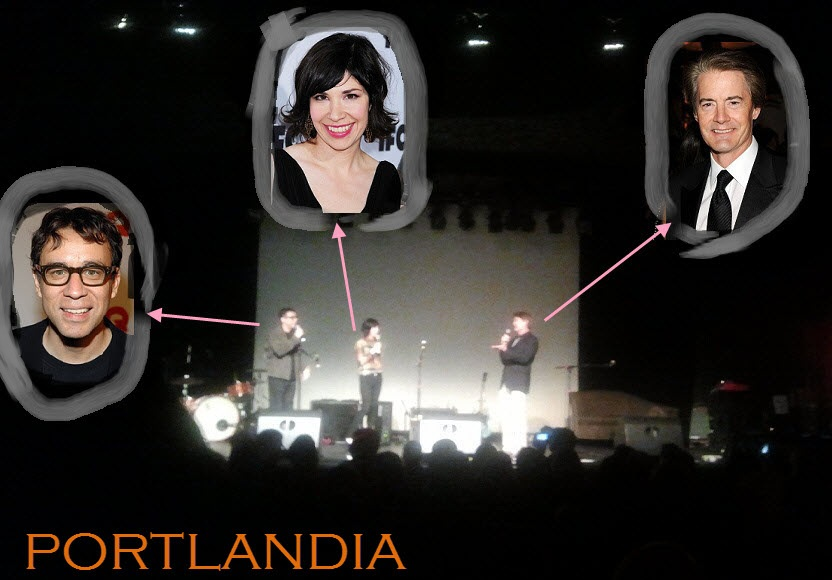 Portlandia on tour in Seattle