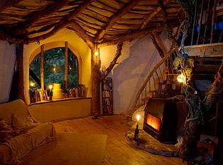Hobbit hole interior