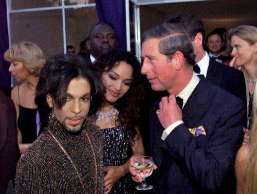 Prince and Prince Charles