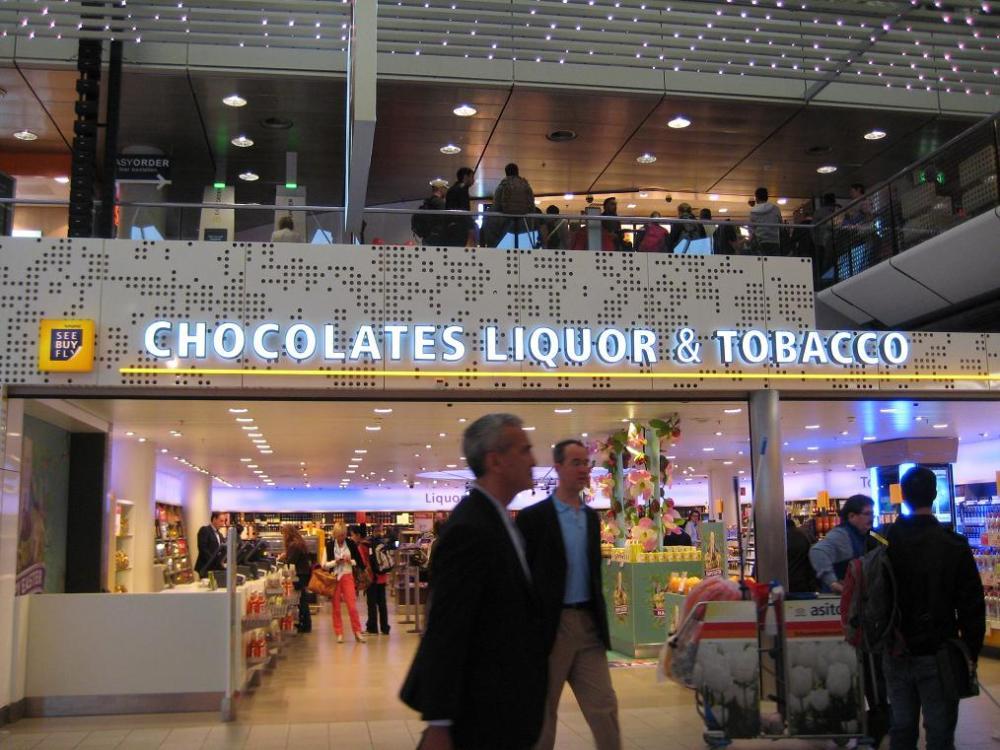Chocolates Liquor & Tobacco store