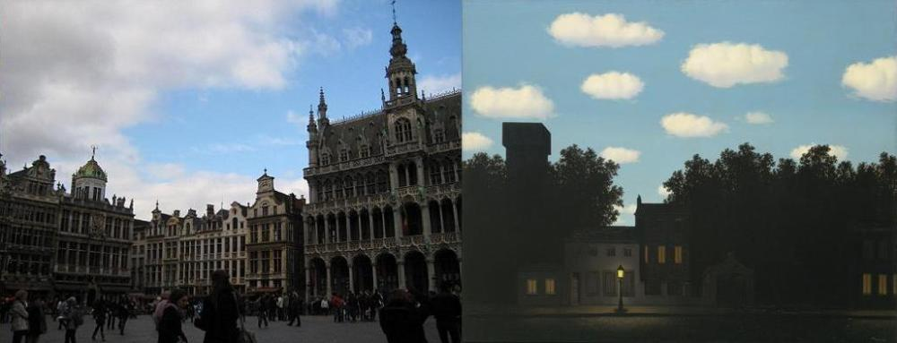Grand-Place in Brussels / The Empire of Light, II