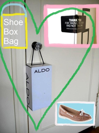 Ald's shoe-box bag