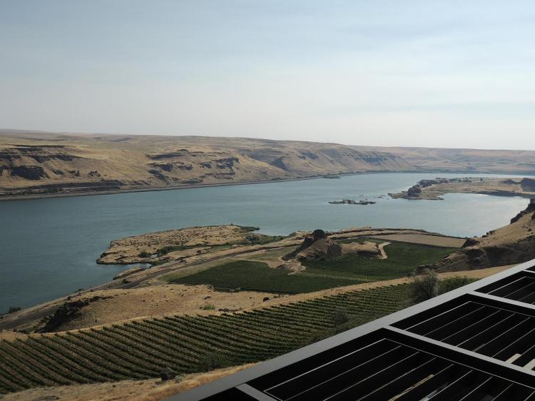 Columbia River Valley (taken from Maryhill Museum)