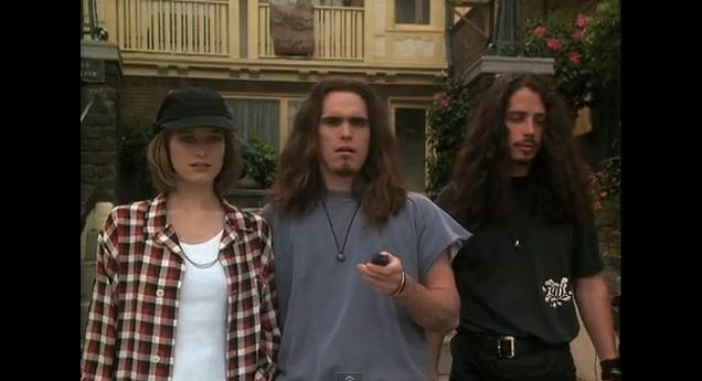 Bridget Fonda, Matt Dillon, and Chris Cornell