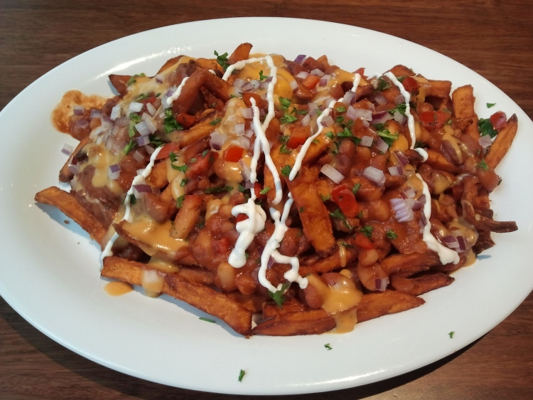 Veggie Grill's Chili Cheese Fries