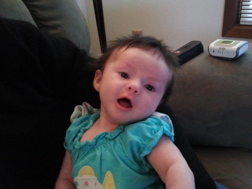 Aria, 2 months