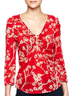 Red blouse - MNG by Mango