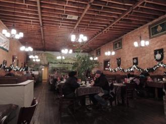Barenhaus restaurant in Leavenworth.