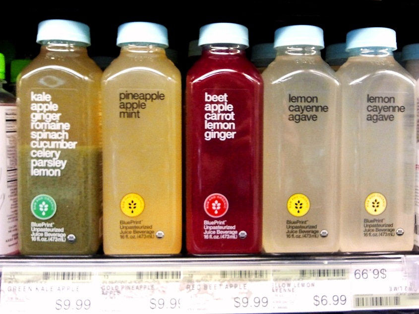 $9.99 juices at Whole Foods