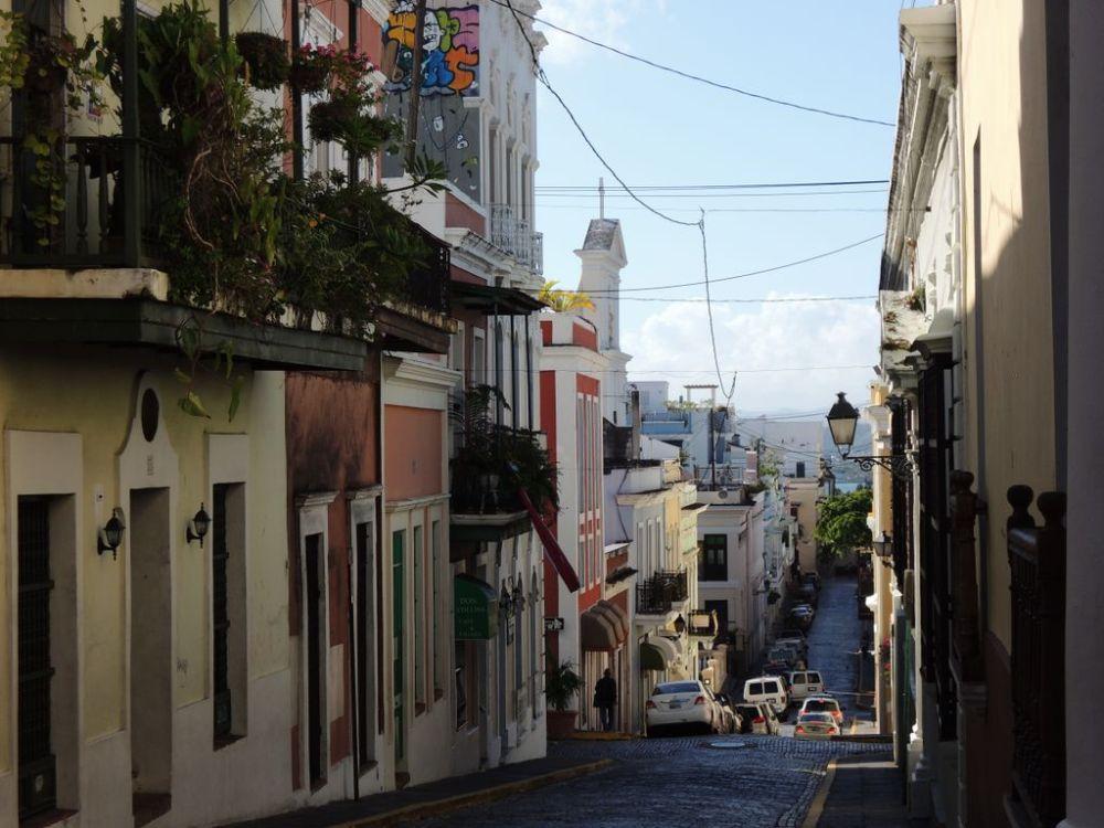 Calle del Cristo in Old San Juan