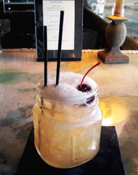 Whiskey Sour at Anchors Down in Ballard