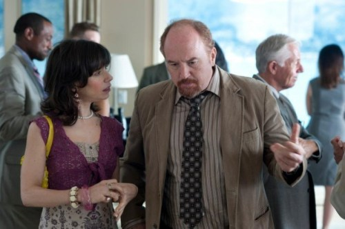 Louis C.K. and Sally Hawkins in Woody Allen's Blue Jasmine