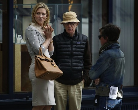 Blue Jasmine - Cate Blanchett and Woody Allen