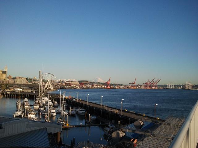 Seattle Elliott Bay Waterfront
