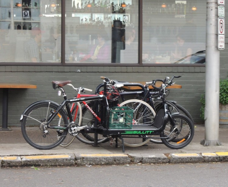 Cargo Bullitt TNT - The fastest cargo bike in the world.