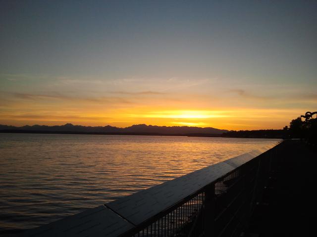 Puget Sound Dusk