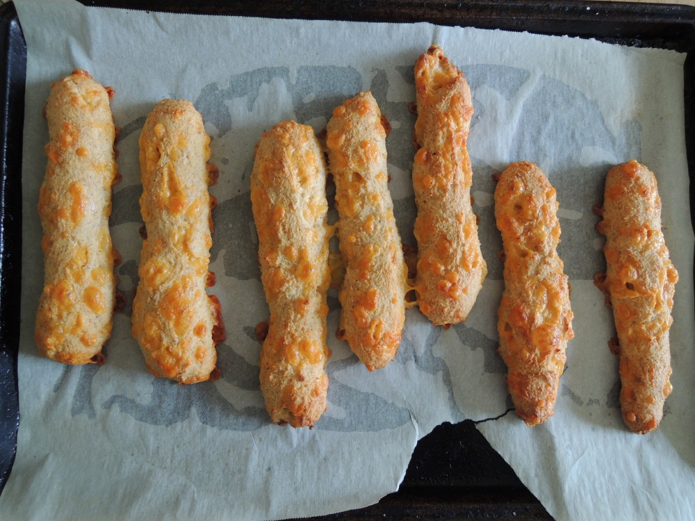 Real Sustenance - Extra Cheesy Garlic Breadsticks