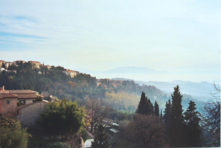Perugia in the morning