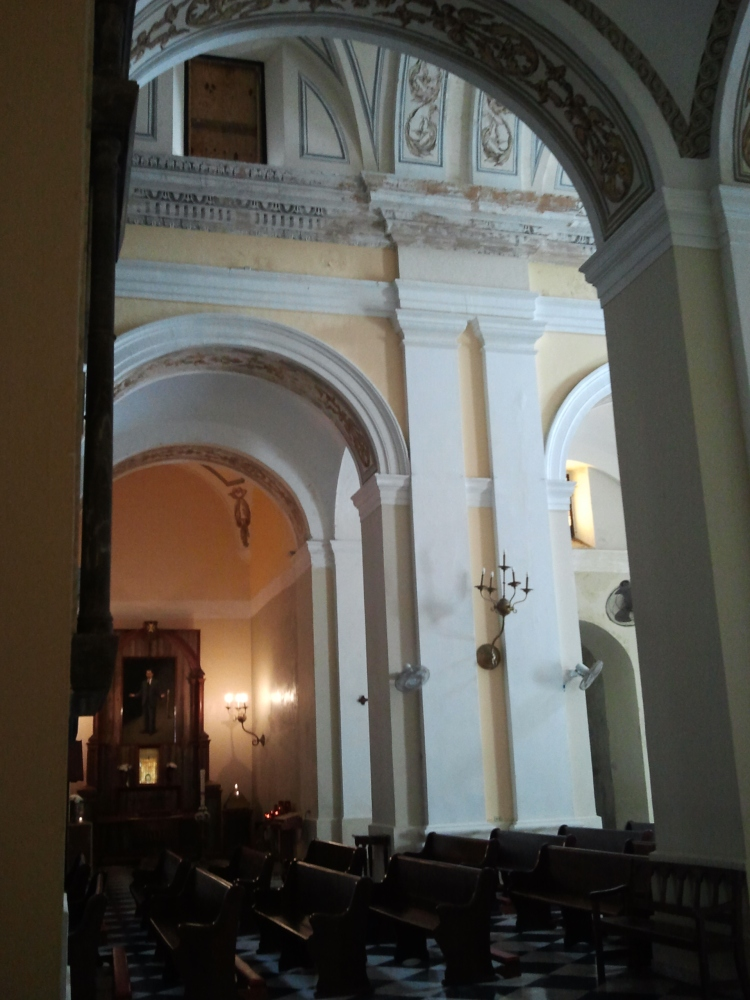 Cathedral of San Juan Bautista - interior