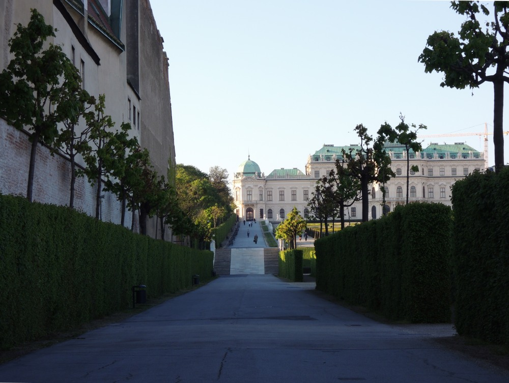 The Belvedere Palace and its gardens, Vienna