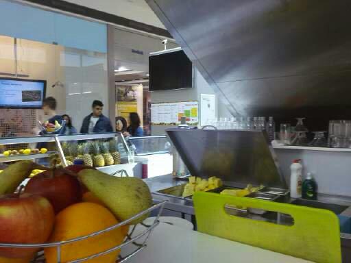 Eurovea juice bar, Bratislava