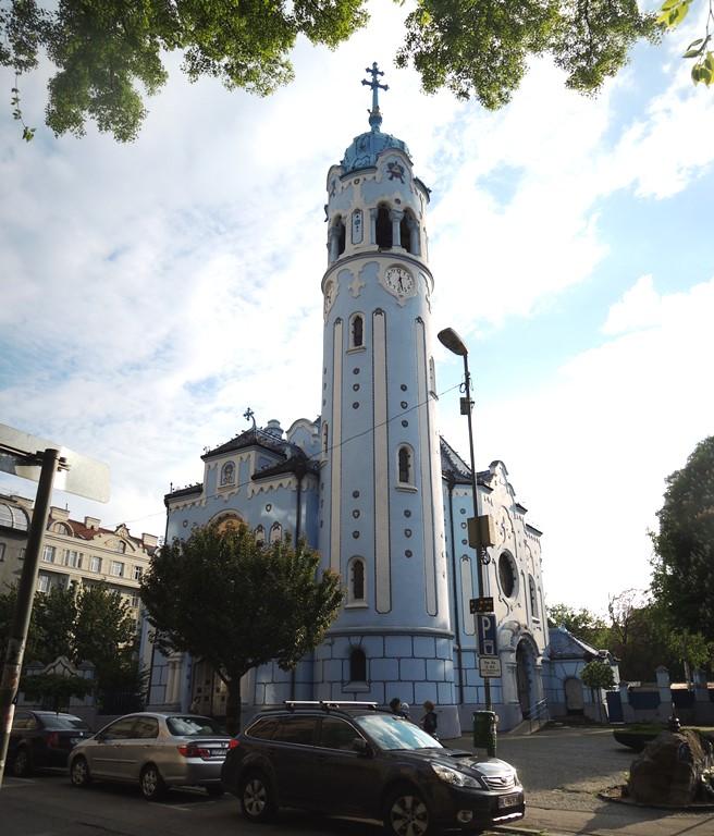 St. Elisabeth's (aka Blue Church), Bratislava