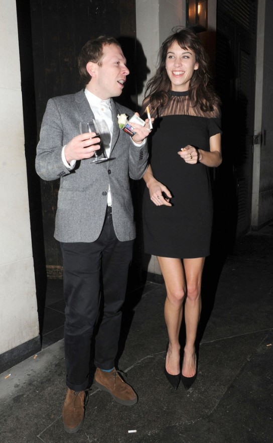 Alexa Chung out on the town