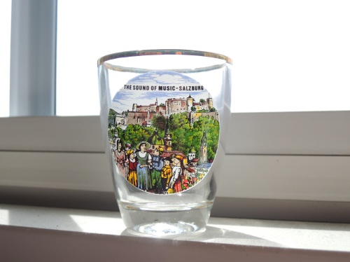 """Sound of Music"" shot glass"