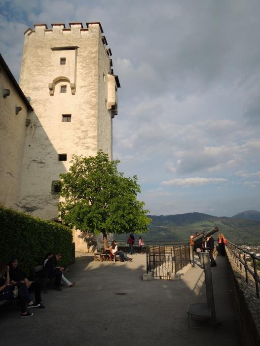 Hohensalzburg overlook