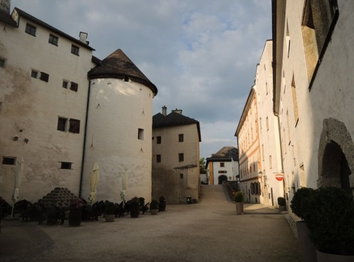 Inner courtyard, near the grain storage
