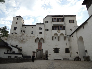 Hohensalzburg Castle - near the castle keep