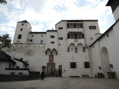 Hohensalzburg Castle - near the castle keep