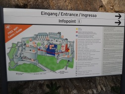 Hohensalzburg Castle map