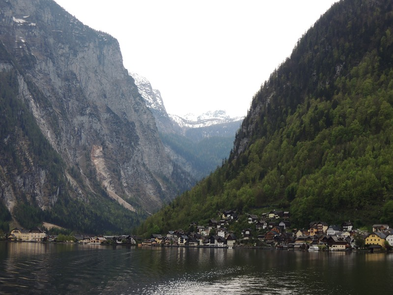 Hallstatt mountains