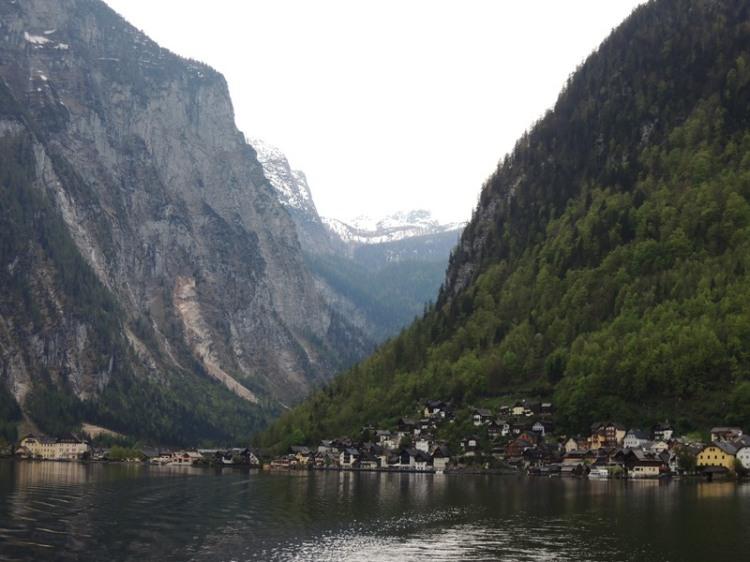 Hallstatt mountains
