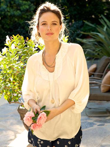 Josie Maran (picture from Redbook magazine)