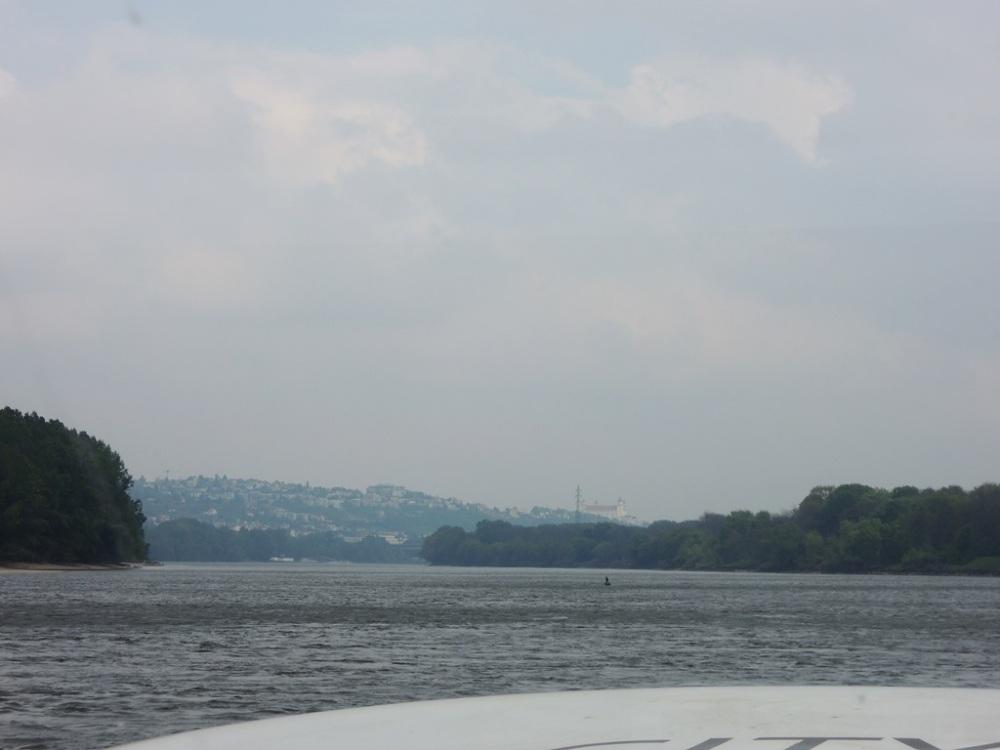 Bratislava from the Danube