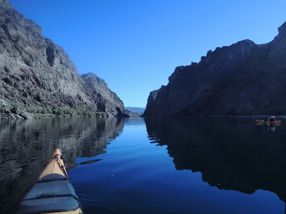 Colorado River kayak tour