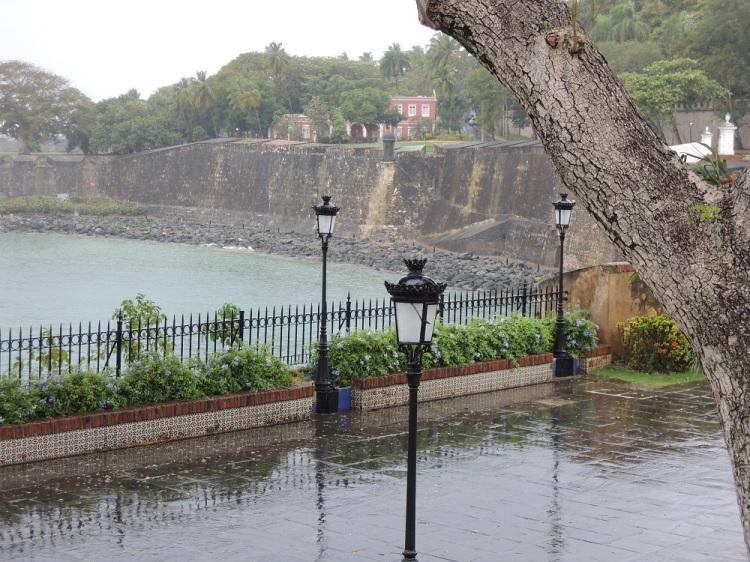 La Fortaleza - Palacio de Santa Catalina view of the water