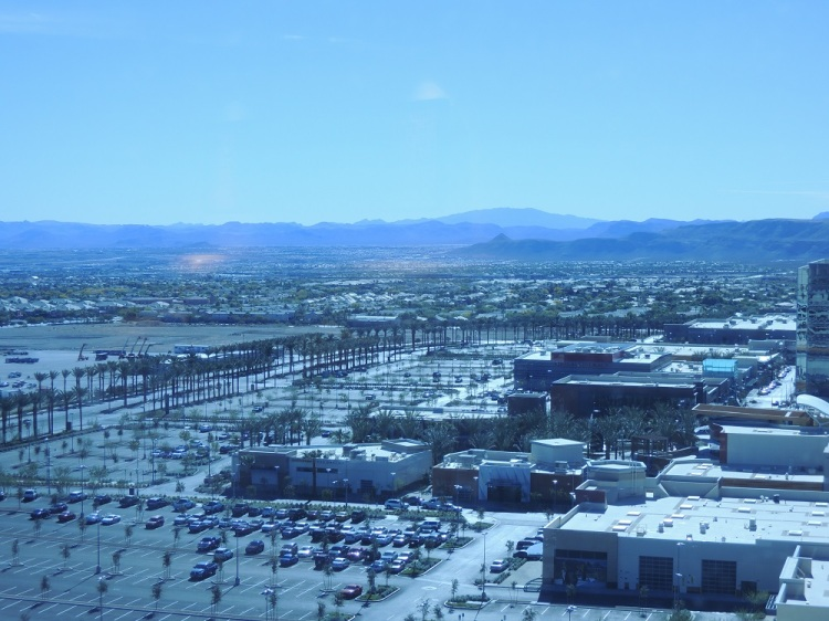 Downtown Summerlin parking lot